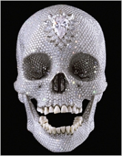 "Damien Hirst's ""For the love of God,"" photo courtesy of the NYTimes"